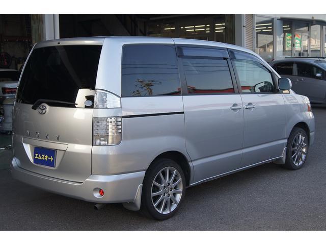 トヨタ ヴォクシー X サイドリフトアップシート 17アルミ