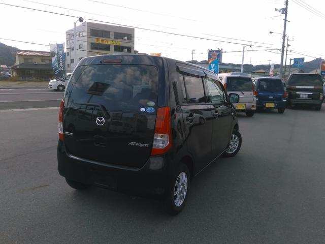 マツダ AZワゴン XG  5速マニュアル CD キーレス 電格ミラー 黒