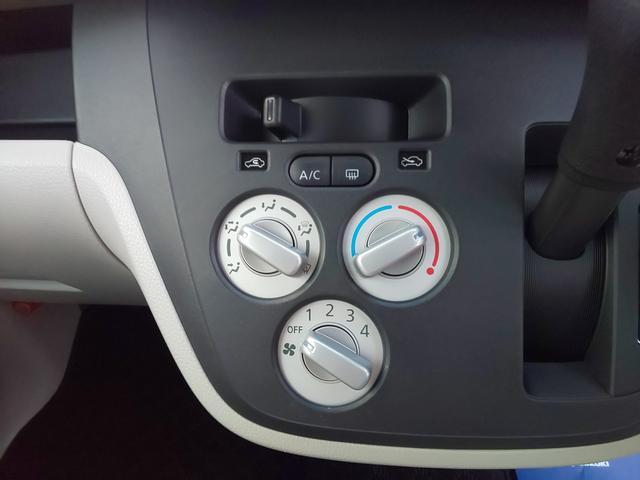 エアコン装備で快適ですよ。