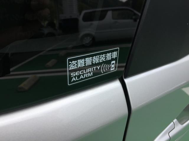 セキュリティアラーム搭載車です。