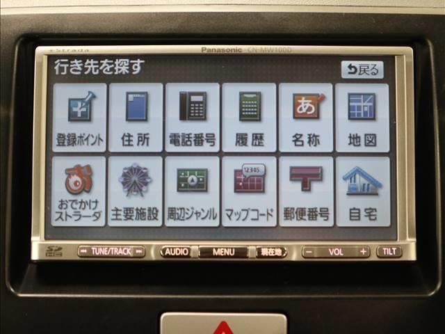 スズキ MRワゴン ウィット GS 社外SDナビ TV