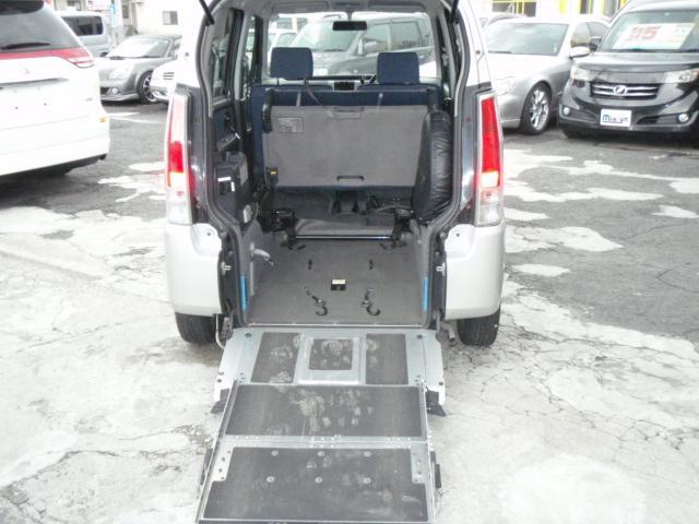 車椅子固定電動式です!!