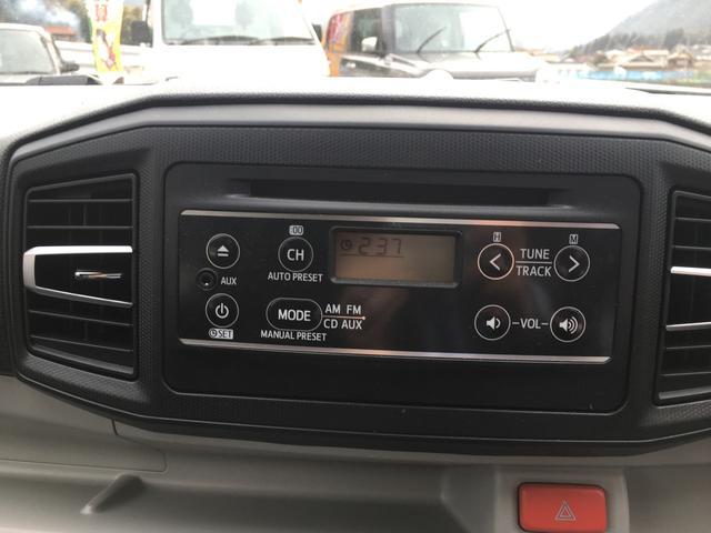 ダイハツ ミライース 660 X SAIII Wエアバッグ ABS ESC CD