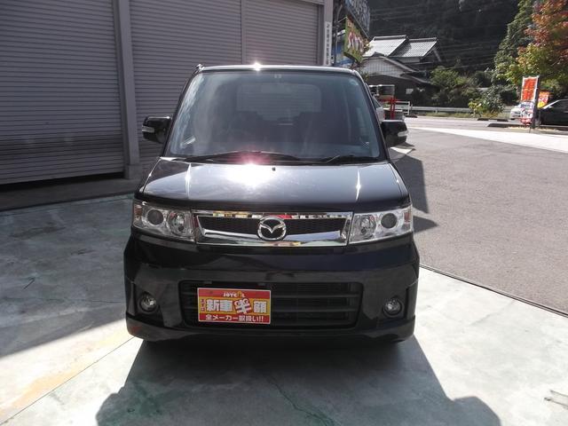 マツダ AZワゴン カスタムスタイルX 純正CD/MDデッキ 社外13inアルミ