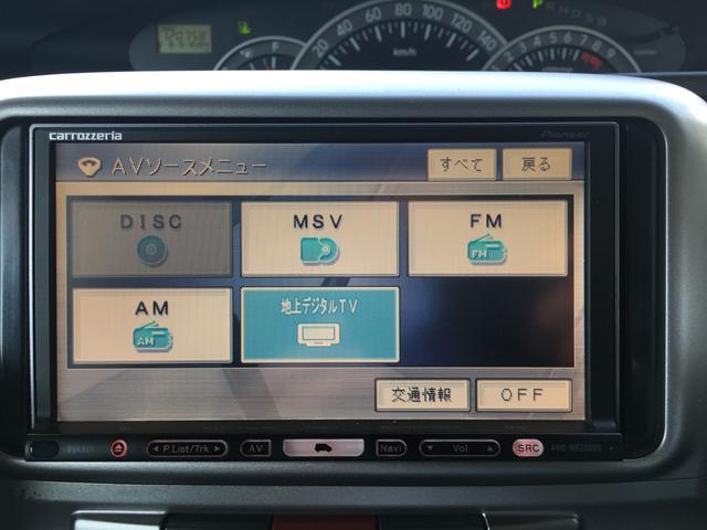 ダイハツ タント カスタムRS ターボ HDD地デジナビ 左電動ドア ETC