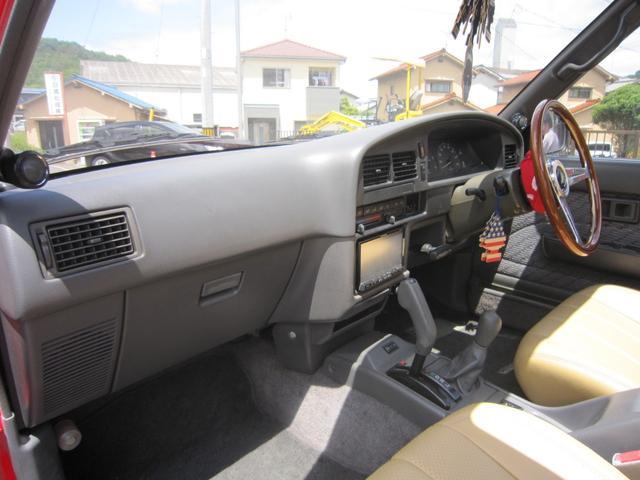 トヨタ ハイラックスサーフ SSR-X ワイド リフトアップ サンルーフ 背面タイヤレス