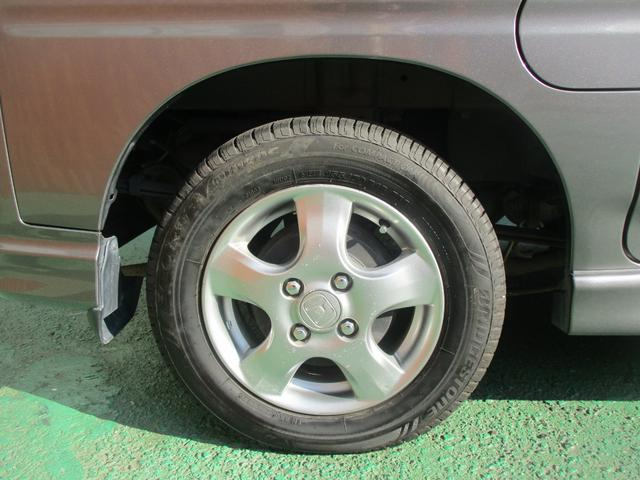 タイヤもまだまだ使用していただけます。