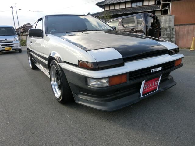 「トヨタ」「スプリンタートレノ」「クーペ」「広島県」の中古車4