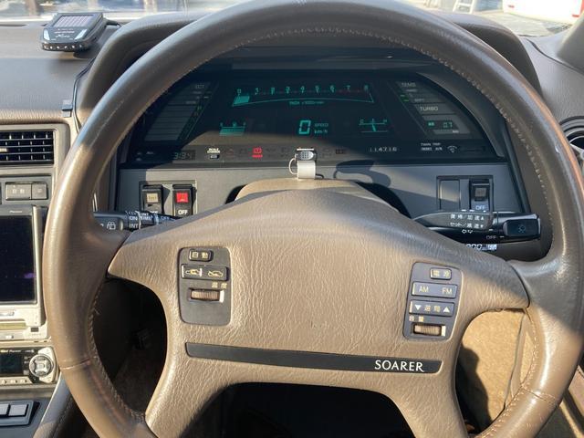 3.0GT ワンオーナー車 取説付き 旧車 DVDナビTV付(11枚目)