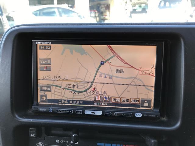 HDDナビ搭載車なので、初めての道も安心して走れます!