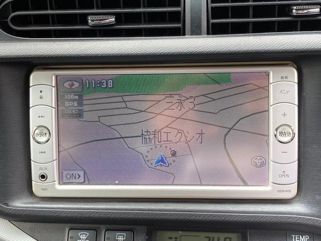 S ドライブレコーダー ETC ナビ バックカメラ ワンセグTV CD DVD AUX スマートキー 純正AW15インチ(9枚目)