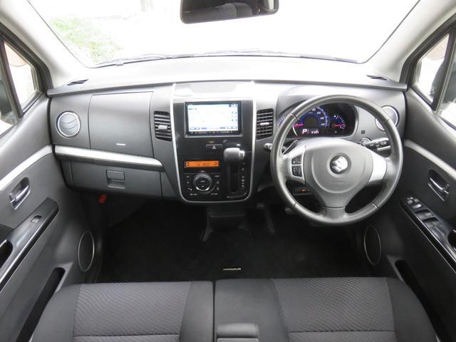 T ワンオーナー ターボ車 ETC ナビ ワンセグTV CD DVD HIDヘッドライト スマートキー AW15インチ 盗難防止システム ベンチシート フルフラット(5枚目)