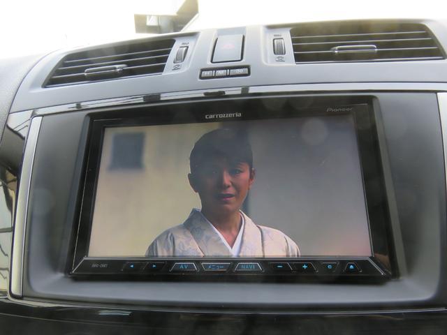 20S-スカイアクティブ クルージンPKG 7人乗り ドラレコ 両側電動スライドドア ETC HDDナビ バックカメラ フリップダウンモニター フルセグTV Bluetooth CD DVD HIDヘッドライト スマートキー(10枚目)