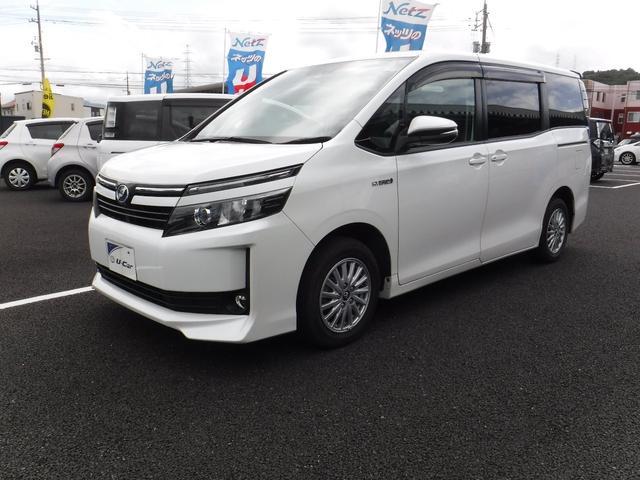 「トヨタ」「ヴォクシー」「ミニバン・ワンボックス」「鳥取県」の中古車16