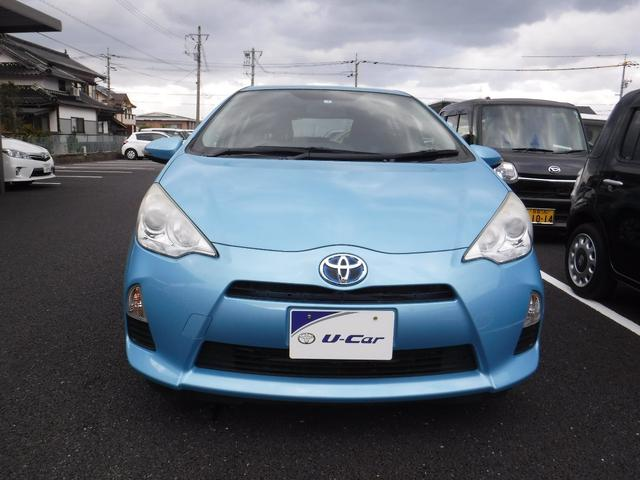 「トヨタ」「アクア」「コンパクトカー」「鳥取県」の中古車14