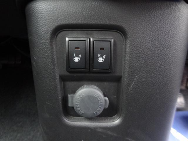 運転席・助手席側シートヒータ付きます。
