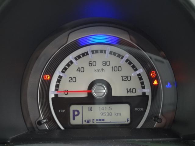 走行距離は9538kmとなっておりまだまだ走れます。お渡しの際はスズキのプロの整備士がしっかりと整備をしてのお渡しになりますのでご安心くださいませ。