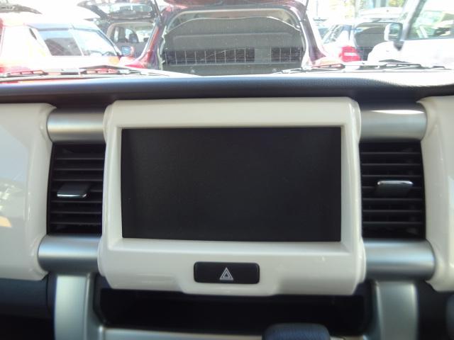 オーディオレス車の為、お好きなオーディオをお選びください。