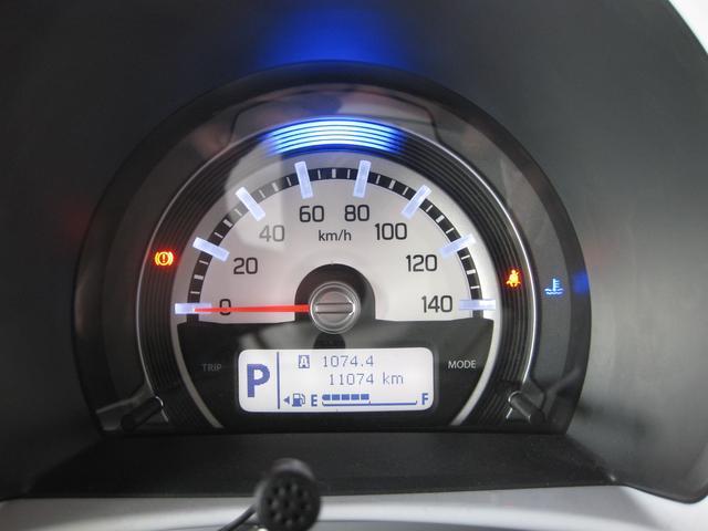 エコドライブをサポートする視認性のいいメーターパネル!!