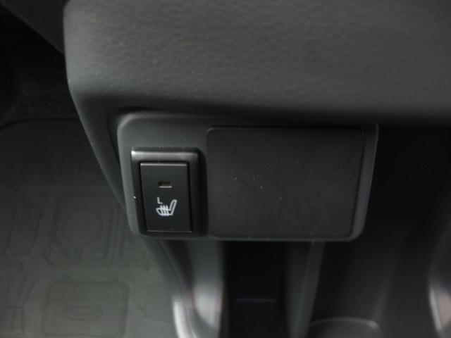 こちらは助手席シートヒータースイッチです。