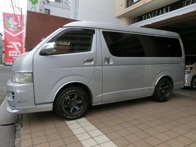 エアロツアラー4WDキャンピング車中泊仕様ベッドキットナビ(8枚目)