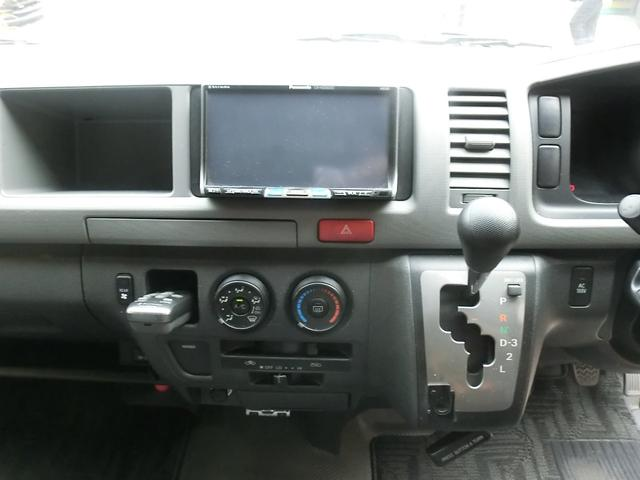 エアロツアラー4WDキャンピング車中泊仕様ベッドキットナビ(13枚目)