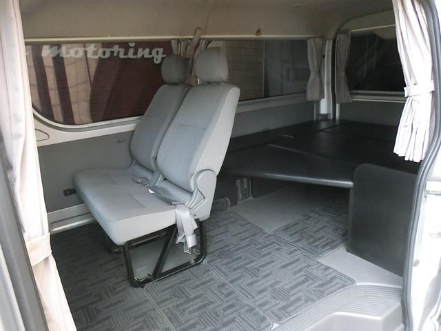エアロツアラー4WDキャンピング車中泊仕様ベッドキットナビ(15枚目)