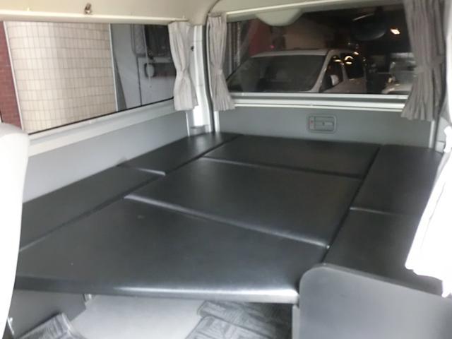 エアロツアラー4WDキャンピング車中泊仕様ベッドキットナビ(17枚目)