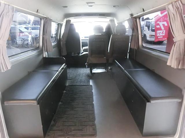 エアロツアラー4WDキャンピング車中泊仕様ベッドキットナビ(19枚目)