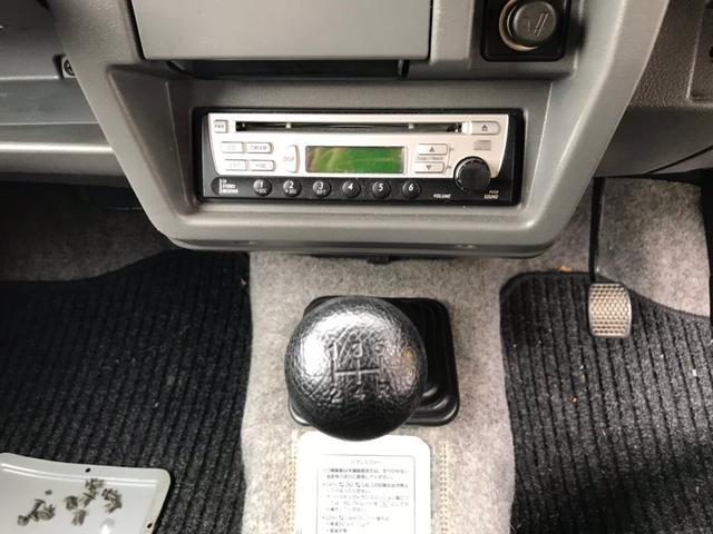 タイベル交換済 4WD グリーン 車検整備付 MT ターボ(15枚目)