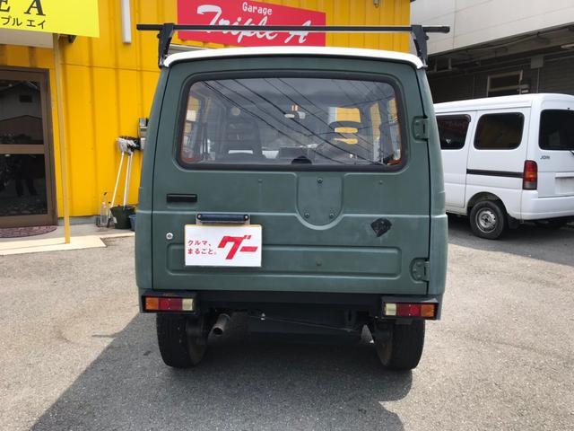 軽自動車 カーキ MT AC AW 4名乗り(7枚目)