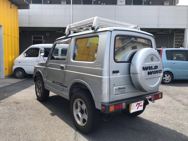 軽自動車 4WD シルバー MT ターボ AC AW(10枚目)