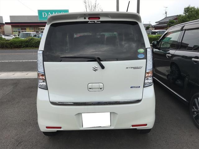 「スズキ」「ワゴンRスティングレー」「コンパクトカー」「山口県」の中古車4