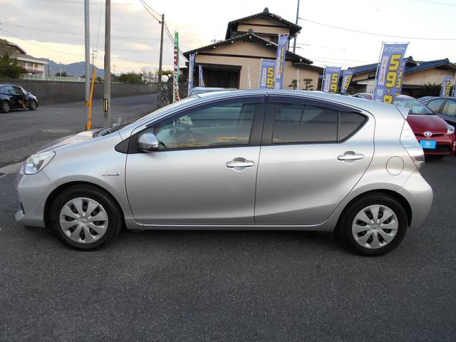 「トヨタ」「アクア」「コンパクトカー」「広島県」の中古車5