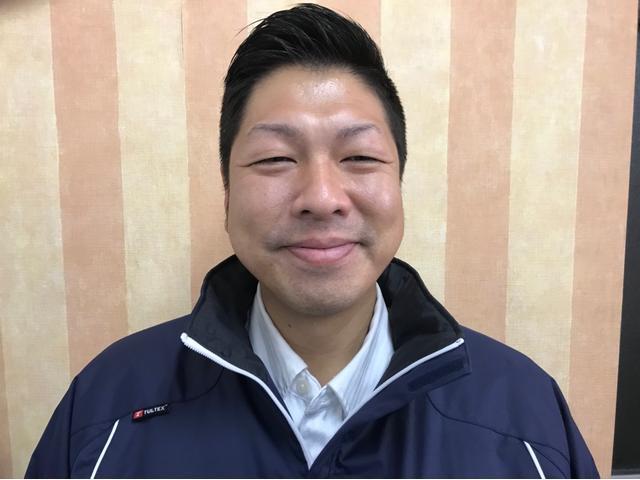 コバック廿日市大野店の店長 川口です♪趣味は釣りです♪社内一の笑顔でお客様をお待ちしております♪