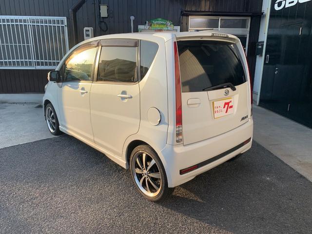カスタム RS HID 16インチAW CVT 軽自動車(9枚目)
