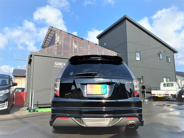 RSZ 4WD 7人乗り HDDナビ 地デジテレビ TV 19インチアルミ 車高調 キーレス ETC サンルーフ ミュージックサーバー スタッドレス付き 車検4年12月まで(9枚目)