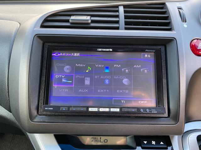 RSZ 4WD 7人乗り HDDナビ 地デジテレビ TV 19インチアルミ 車高調 キーレス ETC サンルーフ ミュージックサーバー スタッドレス付き 車検4年12月まで(23枚目)