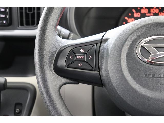 【ステアリングスイッチ】ステアリングを握ったままオーディオ等がコントロール出来ますので、利便性だけでなく事故防止にも繋がります。