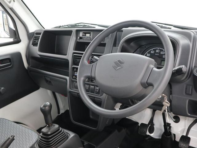 KCエアコン・パワステ パートタイム4WD 5速MT パワステ ABS(6枚目)
