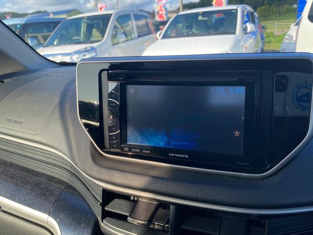 カスタム X ハイパーSA 社外モニターオーディオ スマートアシスト スマートキー プッシュスタート ハーフレザーシート LEDヘッドライト(17枚目)