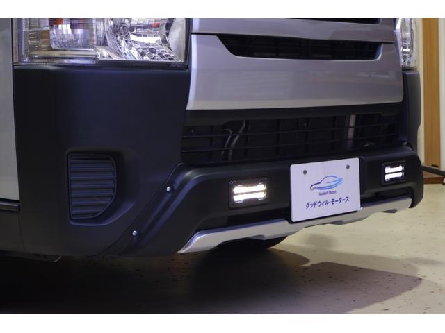 ロングDX 3.0ディーゼルターボ 純正ナビTV ビルトインETC 社外バンパーガード デイライト 禁煙車(6枚目)