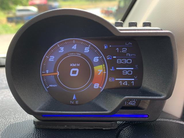 G・ターボパッケージ アンドロイドナビ.DVD.USB.HID.LED.OBDIIマルチメーター.ブースト圧.スマートキー.Bluetooth.衝突軽減ブレーキ.フルオートエアコン.ヒルスタートアシスト(8枚目)