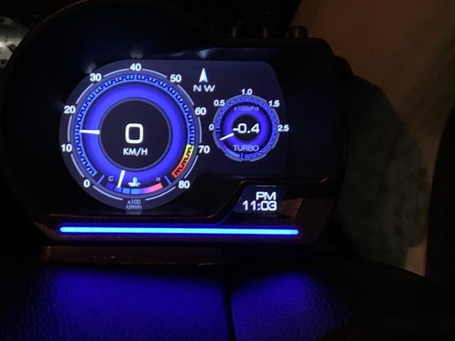 G・ターボパッケージ アンドロイドナビ.DVD.USB.HID.LED.OBDIIマルチメーター.ブースト圧.スマートキー.Bluetooth.衝突軽減ブレーキ.フルオートエアコン.ヒルスタートアシスト(9枚目)