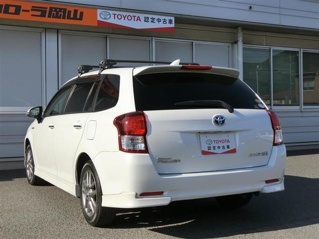 「トヨタ」「カローラフィールダー」「ステーションワゴン」「岡山県」の中古車7