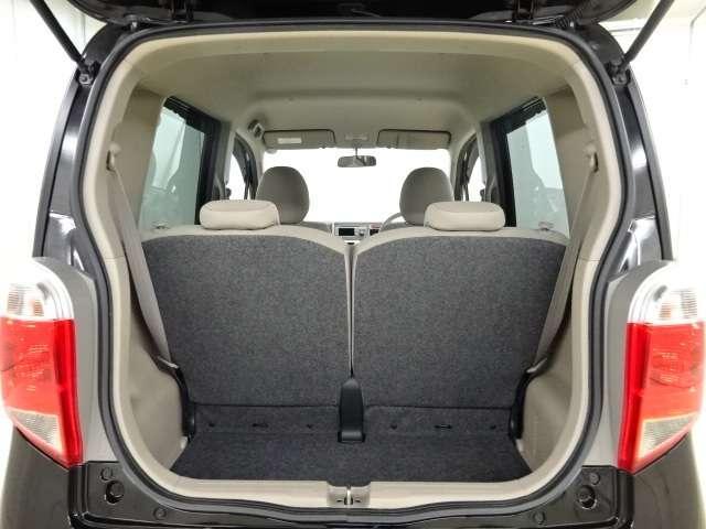 【トランク空間】 十分なトランク広さを持ち通常はこれで大丈夫ですね