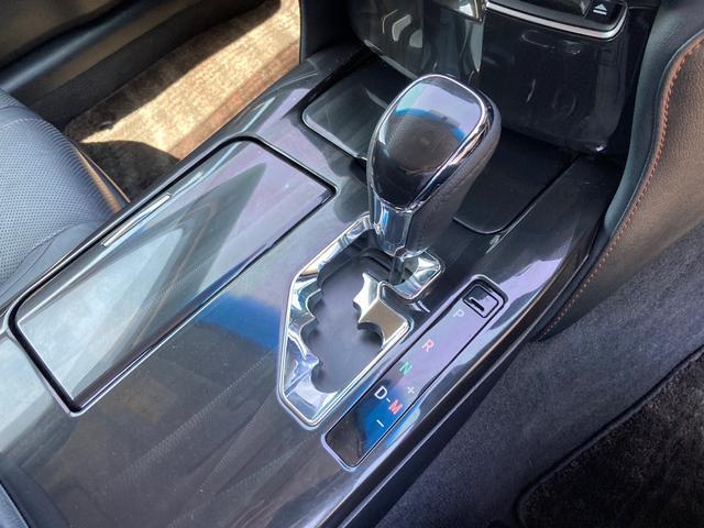 アスリートS 後期バンパー TEIN車高調 ローダウン 革シート サンルーフ パワーシート ETC HDDナビ バックカメラ フルセグTV Bluetooth CD DVD スマートキー 純正AW18インチ(18枚目)