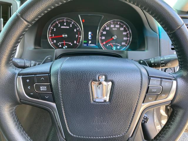 アスリートS 後期バンパー TEIN車高調 ローダウン 革シート サンルーフ パワーシート ETC HDDナビ バックカメラ フルセグTV Bluetooth CD DVD スマートキー 純正AW18インチ(46枚目)