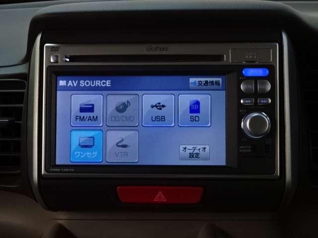 G・Lパッケージ ワンオーナー ナビ リヤカメラ 電動ドア スマキ- AUX CDデッキ 両側スライド片側電動ドア イモビライザー メモリナビ ABS ESC DVD アイドリングストップ付き キーフリ- ナビTV付(6枚目)