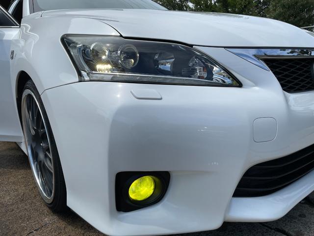 CT200h Fスポーツ BLITZ車高調・マーベリック19インチアルミホイール・LEDヘッドライト・ETC・ドライブレコーダー・スマートキー・ハイブリッド(7枚目)